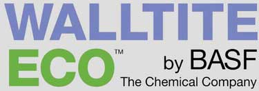 walltite eco spray foam by basf the chemical company logo