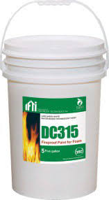 dc315 thermal barrier coating white bucket